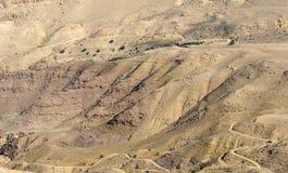 Jordan Rift Valley Arkivbild