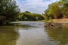Jordan River immagine stock