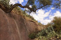 Jordan river bed, Lalibela, Ethiopia, UNESCO World Heritage site Stock Photos