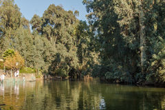 Jordan River. In Israel / West Bank Royalty Free Stock Photography