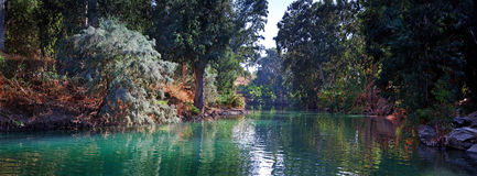 Jordan river Stock Image