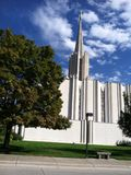 Jordan River Temple Stock Afbeelding