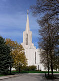 Jordan River Temple (rear view) Royalty Free Stock Photography