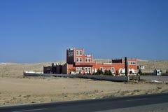 Jordan, Roadhouse and shopping center. Aqaba, Jordan - March 06, 2019: Desert Castle Bazar - a roadhouse, shopping center, market and restaurant on the road stock photo