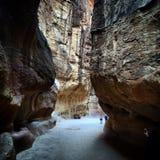 Jordan rocks Petra Royalty Free Stock Photography