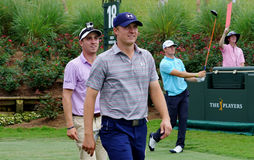 Jordan Spieth and Justin Thomas Stock Images