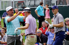 Jordan Spieth and Justin Thomas Stock Photography