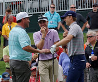 Jordan Spieth and Justin Thomas Royalty Free Stock Photos