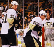 Jordan Staal and Sidney Crosby Royalty Free Stock Image