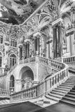 Jordan Staircase del palacio del invierno, museo de ermita, animal doméstico del St Foto de archivo libre de regalías