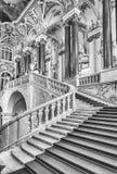 Jordan Staircase del palacio del invierno, museo de ermita, animal doméstico del St Fotos de archivo libres de regalías