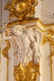 Jordan Staircase no palácio do inverno, museu de eremitério do estado St Petersburg Rússia fotos de stock