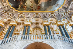 Jordan Staircase of the Winter Palace, Hermitage Museum, St. Pet Royalty Free Stock Images