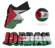 Jordan Symbols Fotografia Stock