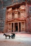 Jordan: Tomb In Petra Royalty Free Stock Images