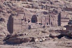 Jordan - the tombs Stock Image
