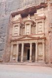 Jordan - the treasury, Petra Royalty Free Stock Images