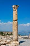 Jordan the Umm Qais Roman ruin Stock Images