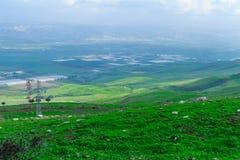 Jordan Valley视图 库存照片