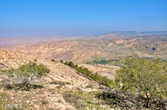 Jordan valley 1. Jordan valley is beautiful place but in the same time very harsh.this photo of jordan valley is taken from Mount Nebo,,and it is one of most Stock Photos