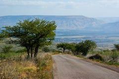 Jordan Valley landscape Stock Photos