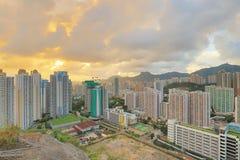 Jordan Valley Ping Shan sikt av kowloon Royaltyfri Foto