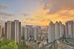 Jordan Valley Ping Shan sikt av kowloon Royaltyfri Fotografi