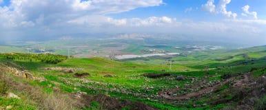 Jordan Valley sikt Arkivfoton