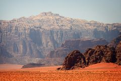 Jordan: Wadi Rum Stock Photos