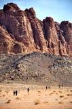 Jordan - Wadi Rum Royalty Free Stock Images