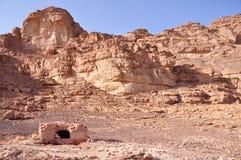 Jordan - Wadi Rum. Wadi Rum in Jordan, desert langscape Royalty Free Stock Images
