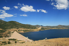 Jordanelle Dam Royalty Free Stock Photos