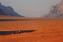 Jordanië: De Rum van de wadi Royalty-vrije Stock Fotografie