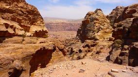 Jordanië - Petra Stock Afbeelding