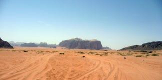 Jordanië - Petra Stock Foto's