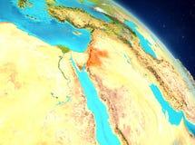 Jordania de la órbita ilustración del vector