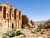 Jordania, Petra imagenes de archivo