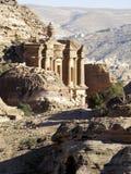 Jordania, Petra Fotografía de archivo libre de regalías