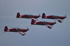 Jordanian Aerobatic-Team Stock Foto