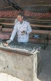 Jordanian chef Royalty Free Stock Photos