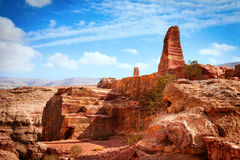 Jordanian desert Stock Photography