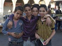 Jordanian Jongens stock afbeeldingen