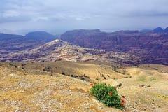 Jordanian landscape Royalty Free Stock Image
