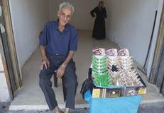 Jordanian Shop Clerk Royalty Free Stock Image