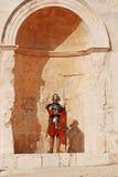 Jordanian soldier Stock Photo