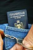 Jordanian Suspect Royalty Free Stock Photos
