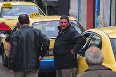 Jordanian Taxistandplaats stock foto