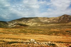 Jordanian valley ,2 Stock Photo