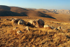 Jordanian valley Royalty Free Stock Image
