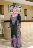 Jordanian woman smiling Stock Photography